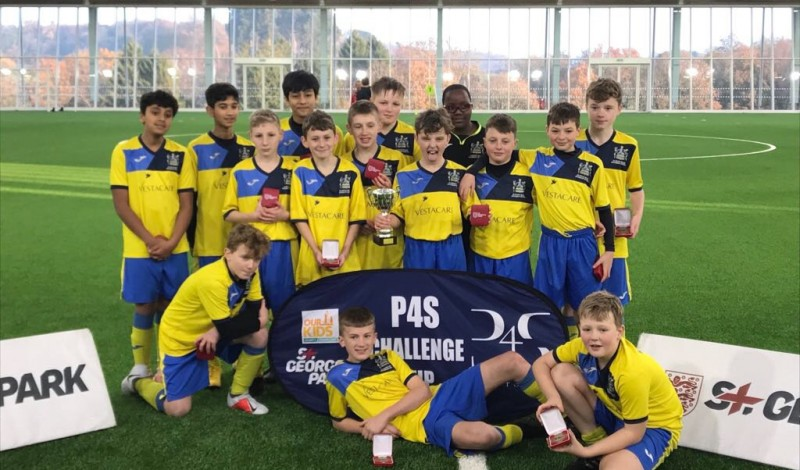 Congratulations Oldham Hulme Grammar School U13 Football Team