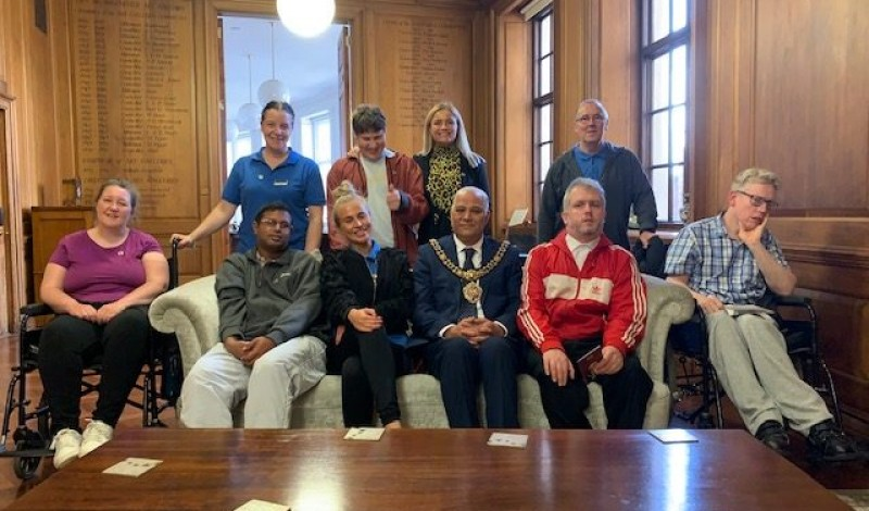Vestacare was so pleased to be invited to the Lord Mayor's Suite!
